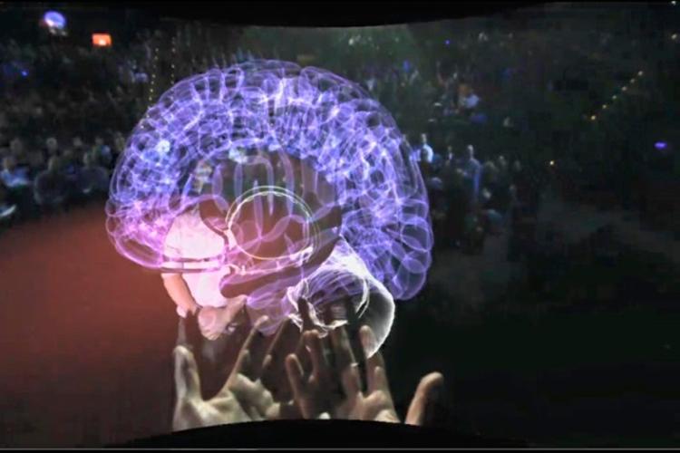 Resonancia Magnética de un cerebro   UploadVR