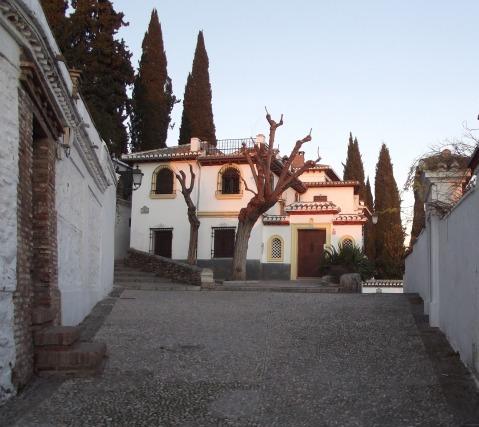 Albaícin neighborhood in Granada, Spain