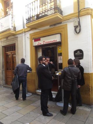 Los Diamantes Bar, Granada, Spain