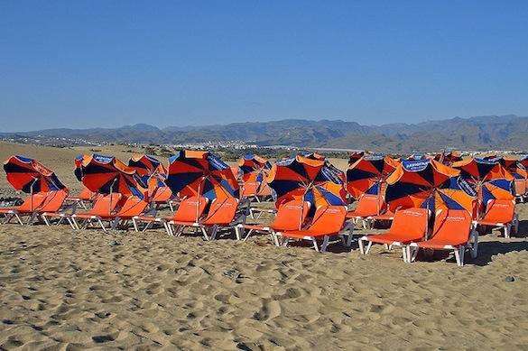 Gran Canaria, Maspalomas, beach, Spain