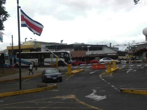 View from the Universidad de Costa Rica campus of Calle de la Amagura    Malia Williams