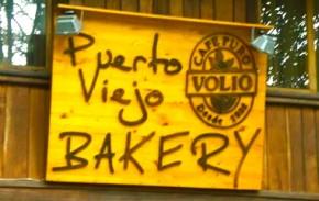 Puerto Viejo's local bakery shop