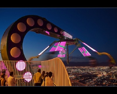 The Insanity Ride at the Stratosphere Hotel | E_TAVARES