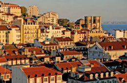 Miradouro Santa Luzia, Lisbon. views,