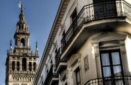 La giralda, sevilla, art, city