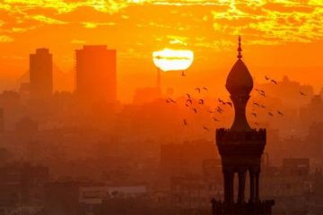 View in Cairo, Egypt