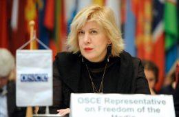 OSCE, Dunja Mijatovic, speech freedom, rights