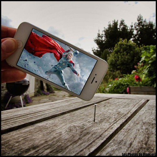 """Movie Scene from """"Thor 2"""" recreated using an iPhone   via The Hollywood Reporter"""
