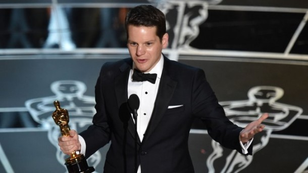 """Imitation Game"" writer Graham Moore in the Oscars 