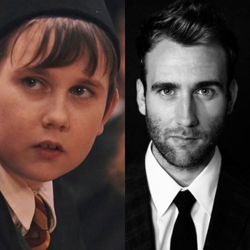 Matthew Lewis en Harry Potter y en la actualidad | vía Los 40