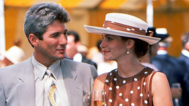 """Richard Gere and Julia Roberts in """"Pretty Woman"""" 
