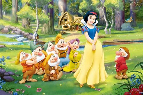 Snow White and the Seven Dwarfs [via Wonderlist]