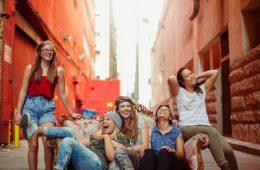 students, happy, young, fun, university, highschool