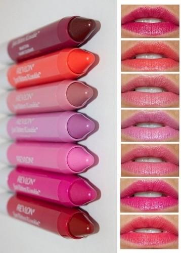 Different colours of lipsticks | via Pinterest
