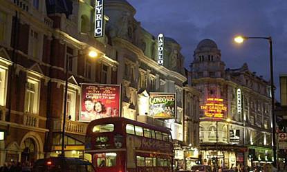 West End Theatre, London   via Tqs Magazine