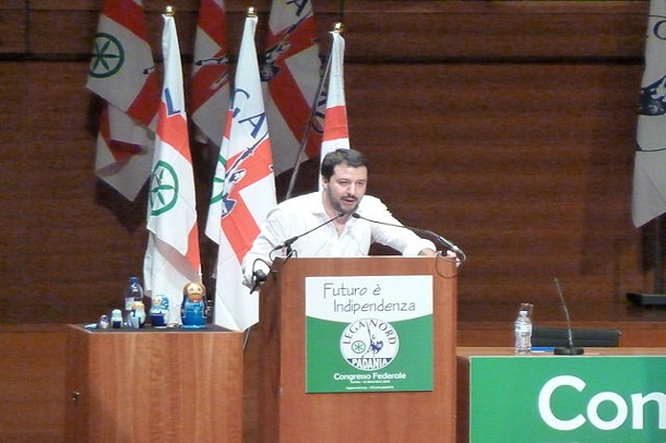 Fabio Visconti   Matteo Salvini, leader of Lega Nord, 2013