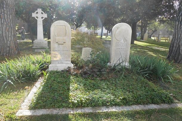 Giorgia Damiani   The Grave of John Keats