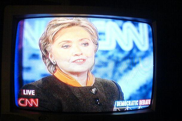 Steam Pipe Trunk Distribution Venue | Hillary Clinton on CNN in a 2008 Democratic Debate