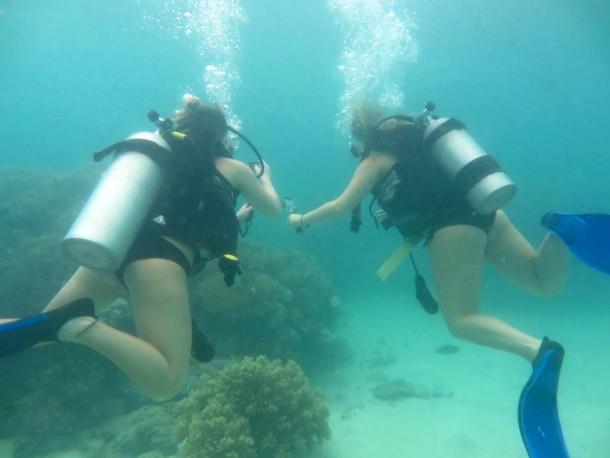 Scuba diving in the Great Barrier Reef | Lauren Melanson