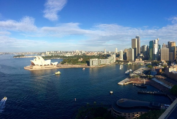 The view from Pylon lookout in Sydney. | Jovana Simonovic