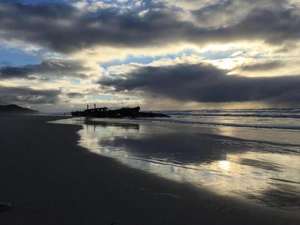 Shipwreck on Fraser Island | Avery Meilleur