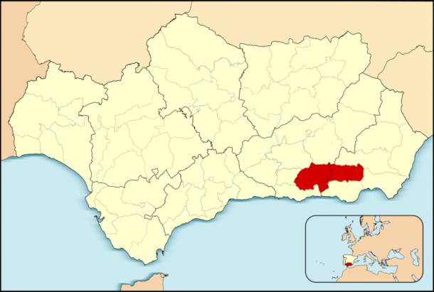 Alpujarras Location   Xufanc