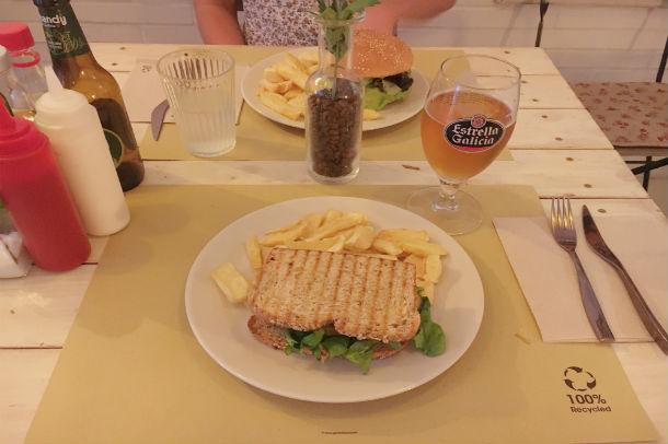 Veggie sandwich   Julia Kramer