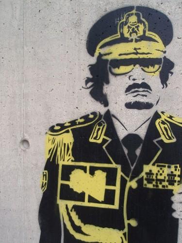 Gaddafi Grafiti | Joelk75