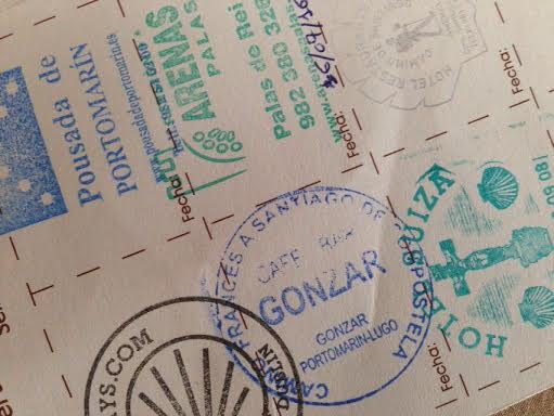 Pilgrim passports document your progress. | Maria Alessandri