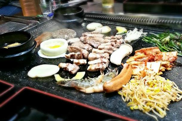 A Korean BBQ Meal  |  Danielle Smith