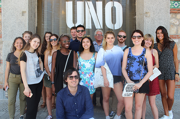 ROOSTERGNN Internship & Mentoring Programs at Matadero Madrid, one of Madrid's most innovative cultural centers - and a former slaughterhouse! (July 2016)