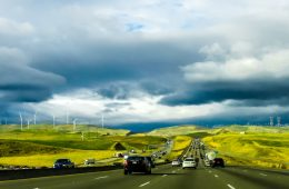 US highway toward renewable energy