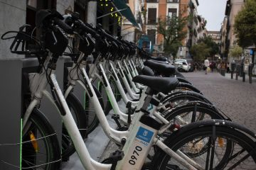 Bikes for rent in Malasaña by the hour | Emily Felts